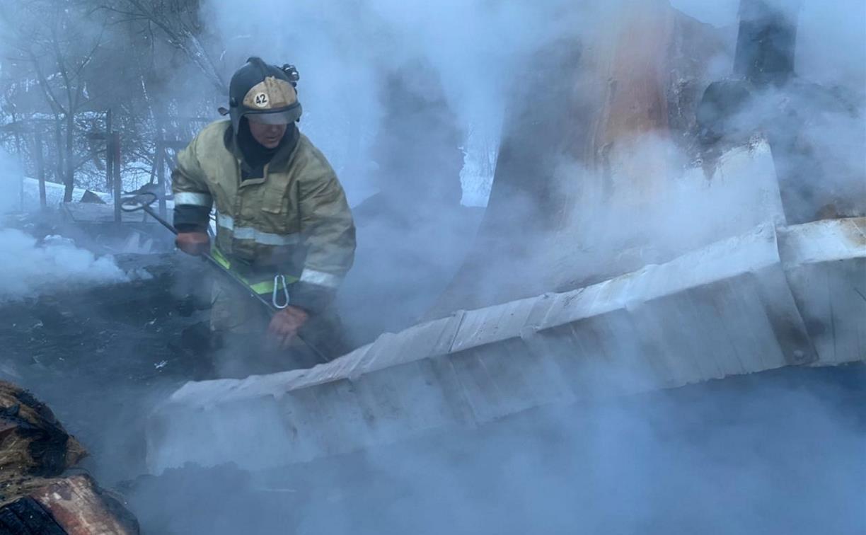 Вспыхнул «Факел»: в Заокском районе при пожаре в бане погиб человек
