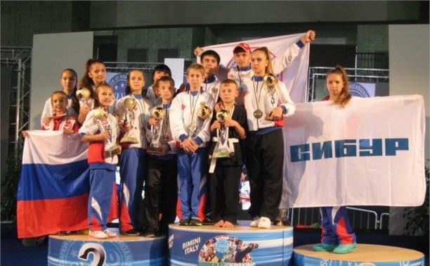 Тульские кикбоксеры успешно выступили на мировом первенстве