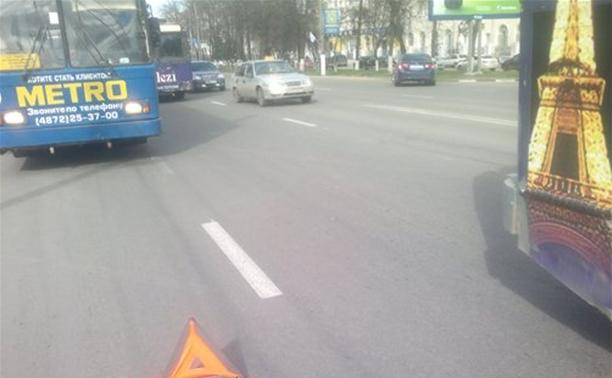 Проспект Ленина парализован в результате ДТП