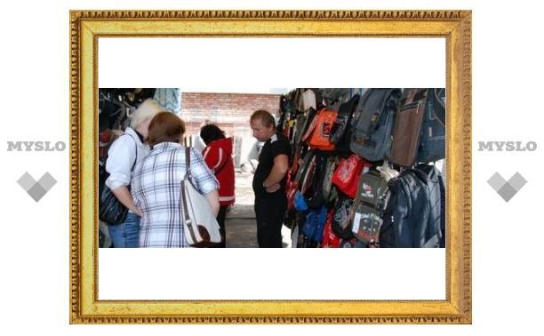 В Туле торгуют контрафактными товарами?