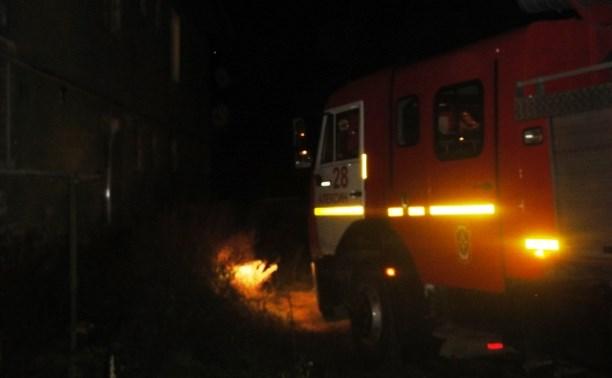 В Алексине двое мужчин спасли людей из горящей квартиры