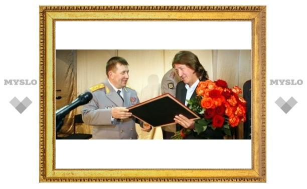 Митяев любит тульских милиционеров