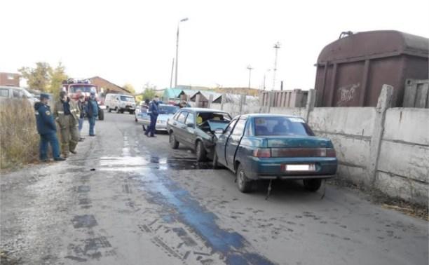 В Донском из-за пьяного водителя пострадали два пассажира