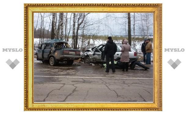 Под Тулой 29-летняя девушка не справилась с управлением и убила своего пассажира