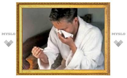 В Туле продолжается эпидемия гриппа