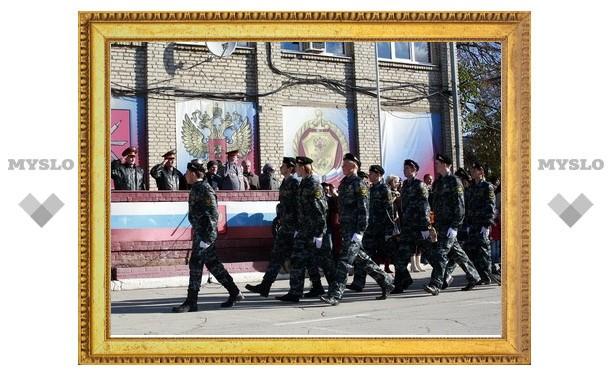 Всероссийская полицейская ассоциация приняла тульских кадетов