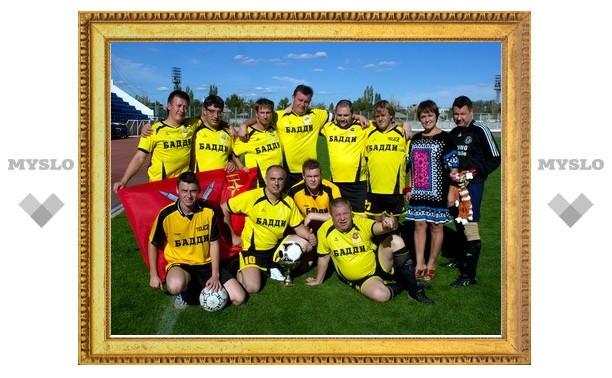 Тульские журналисты сыграли в футбол в Волгограде