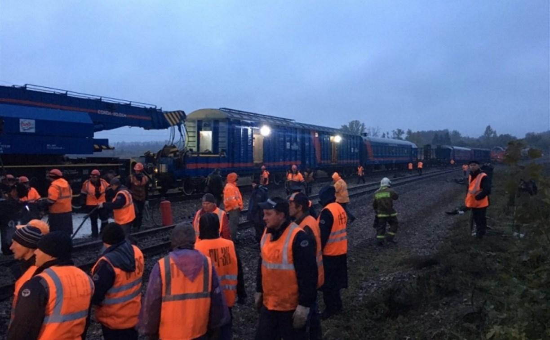Крушение поезда: в Воловском районе объявлен режим чрезвычайной ситуации