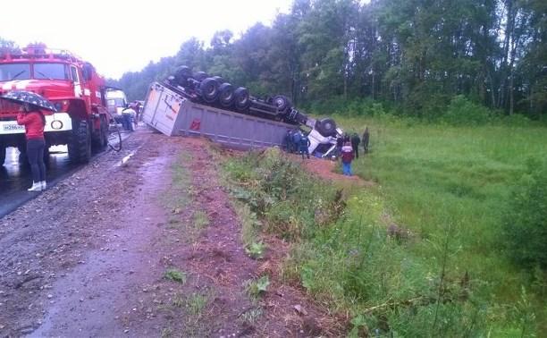 В аварии под Алексином погибла 31-летняя женщина