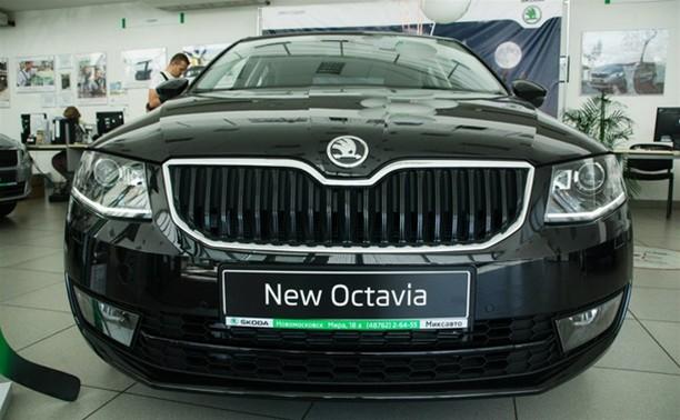 Презентация новой SKODA Octavia