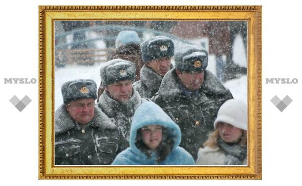 Милиция Тулы перейдет на новогодний режим