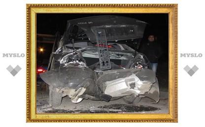 В Туле водитель иномарки «собрал» четыре автомобиля
