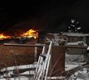 В Туле пожарные вынесли из горящего дома мужчину