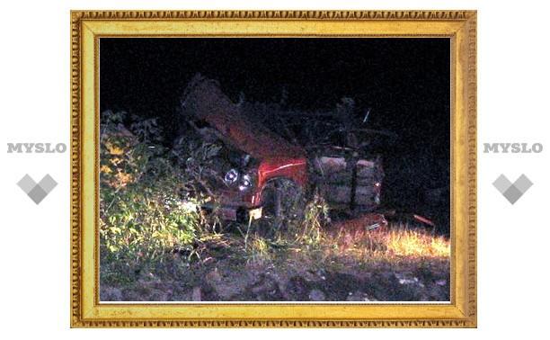 Под Тулой пьяный водитель врезался в газопровод
