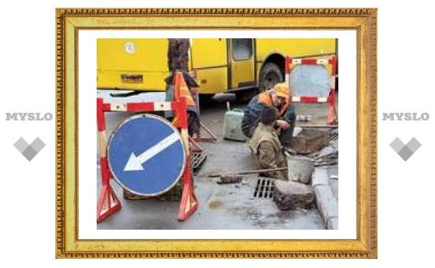 Где в Туле ремонтируют дороги