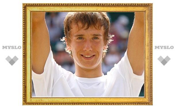 Тульский теннисист занимает 77 место в мировом рейтинге
