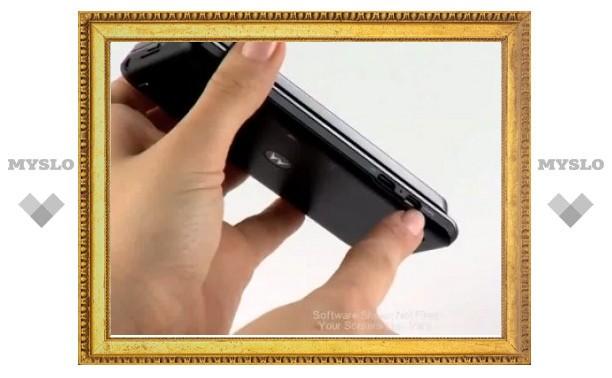 Смартфон Motorola Milestone 3 засветился в роликах на YouTube