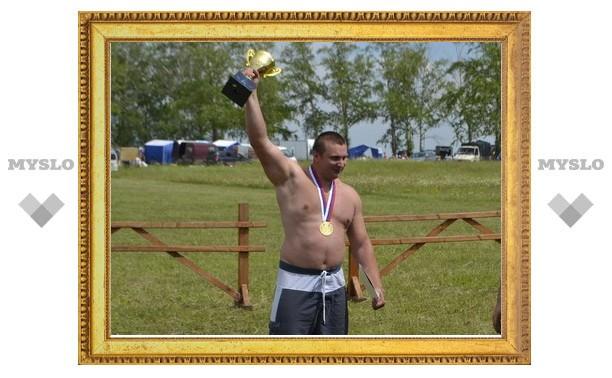 Тульский богатырь установил рекорд