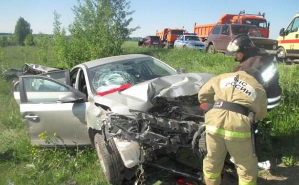В ДТП в Узловском районе погиб мужчина