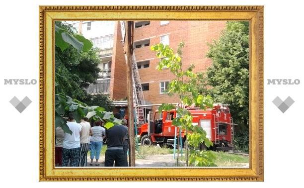 Тульские пожарные спасли жилой дом
