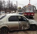 """На Чулковском путепроводе """"девятка"""" протаранила микроавтобус и легковушку"""