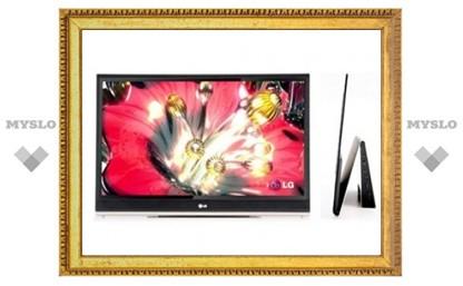 LG представит 55-дюймовый экран OLED
