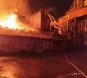 В Ясногорске загорелся склад для хранения зерна