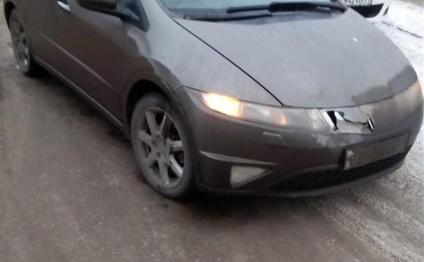 В Богородицке школьник попал под колёса «Хонды»