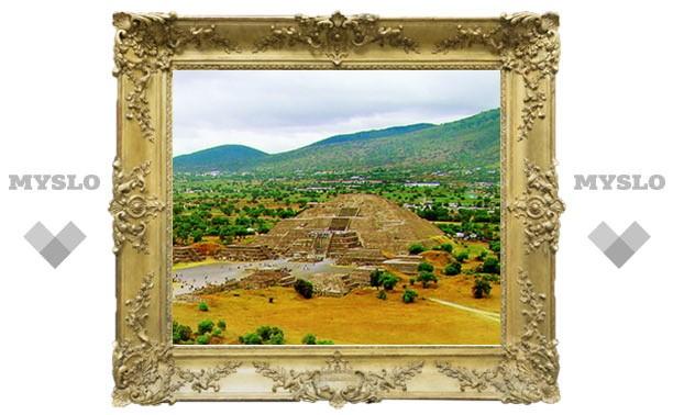 Под Тулой обнаружены пирамиды и истуканы!
