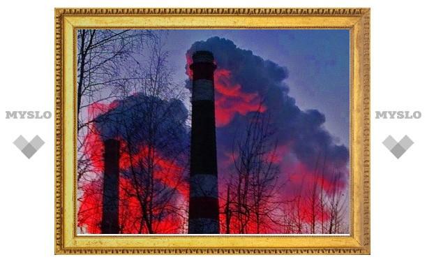 Жительница Щекинского района пожаловалась Владимиру Груздеву на красный дым в небе