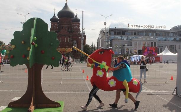 В День города туляки сыграли в «Тульский рубеж»