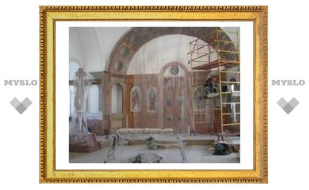 В храме на Куликовом поле восстановят иконостас
