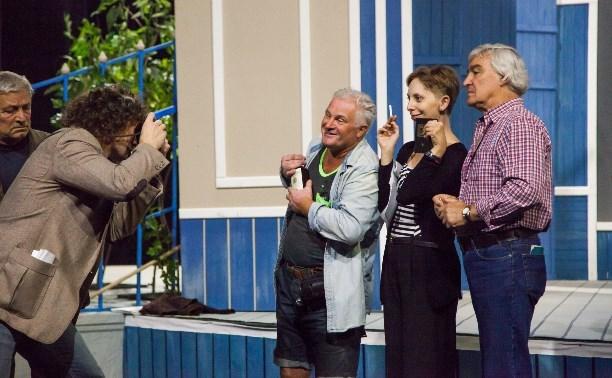 Артисты тульского драмтеатра готовятся к новому сезону