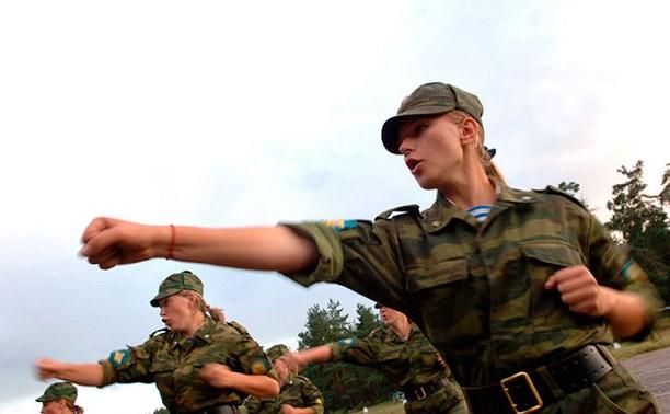 Студентки смогут пройти военную подготовку