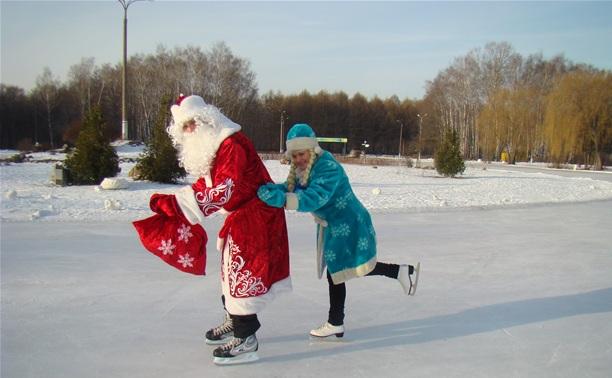 Каток в Центральном парке будет самым новогодним