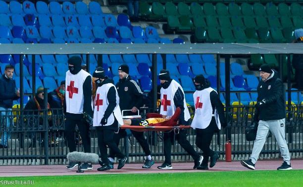 Капитана тульского «Арсенала» успешно прооперировали в московской клинике