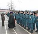 Тульские спасатели дали военную присягу