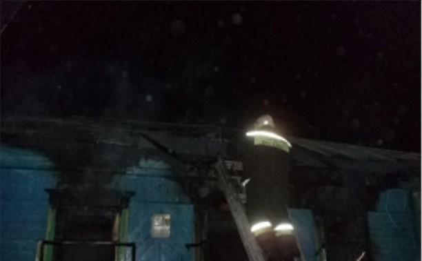 В Егнышёвке в горящем доме погиб пенсионер