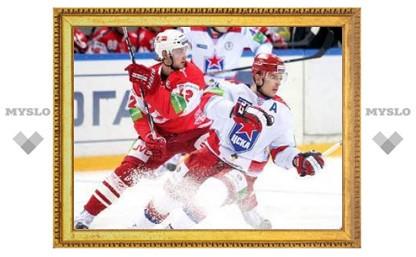 """""""Спартак"""" проиграл ЦСКА в матче КХЛ"""