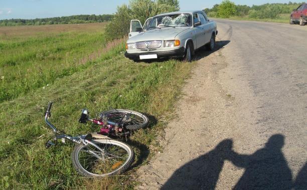 В аварии в Дубенском районе пострадала 11-летняя велосипедистка
