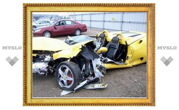73-летний бизнесмен разбил 10 редчайших эксклюзивных автомобилей