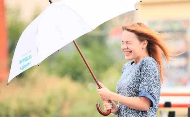 22 июля в Тульской области ожидаются сильные дожди, грозы и град