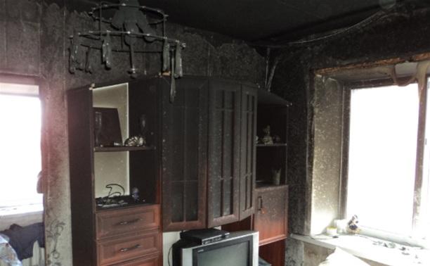Пожарные спасли пять человек из горящего дома