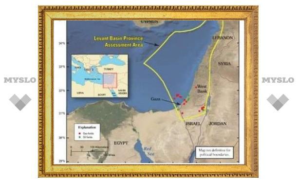 На территории Израиля обнаружено одно из крупнейших месторождений газа