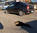 «Тулагорводоканал» выяснит причины провала грунта на Короленко