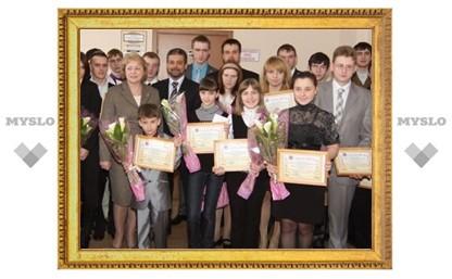 Под Тулой наградили юных талантов