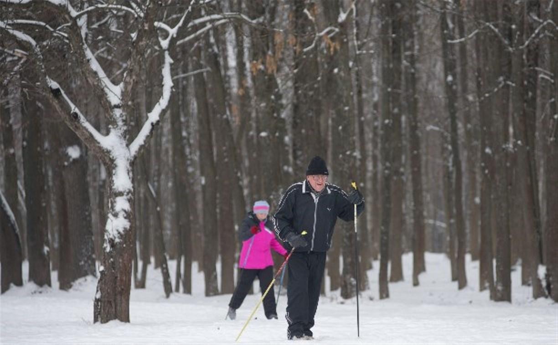 Где в Туле покататься на лыжах