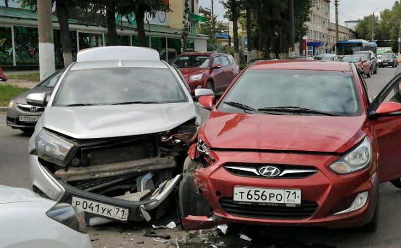В ДТП на Одоевском шоссе в Туле пострадал один человек