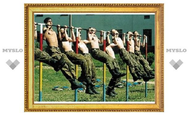 Военным сократят срок подготовки к службе в горячих точках