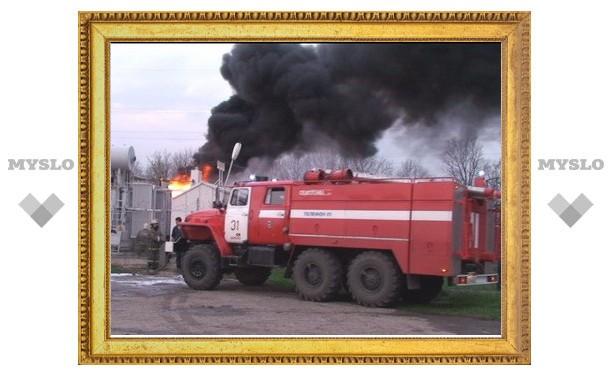 Пожар в Плавске тушили 10 подразделений